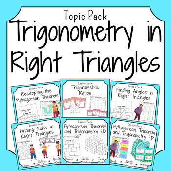 Trigonometry in Right Triangles Activities