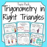 Trigonometry in Right Triangles Bundle