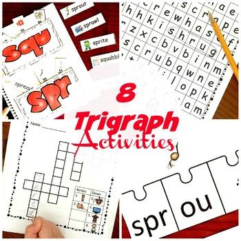 8 Trigraph Activities