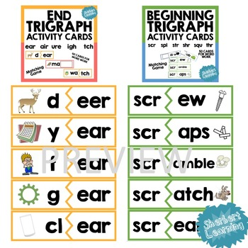 Trigraph Passages and Game BUNDLE! Beginning and end trigraphs!