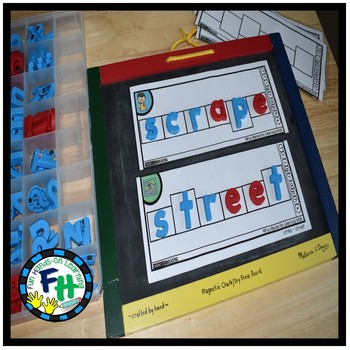 Trigraph Phonics Build-It Strips {Word Work}