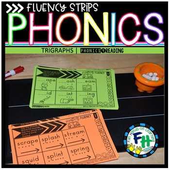 Trigraph Phonics Fluency Strips