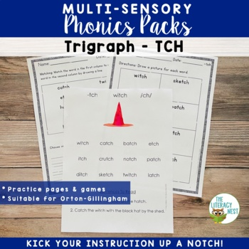 TCH Phonics Activities Multisensory Phonics Approach Orton-Gillingham