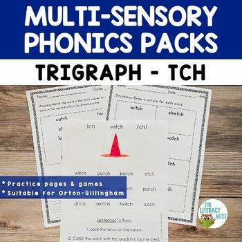 TCH Phonics Activities Multisensory Phonics and Orton-Gillingham Lesson Resource