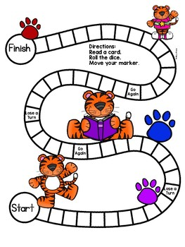 Trigraph tch PHONICS BOARD Game