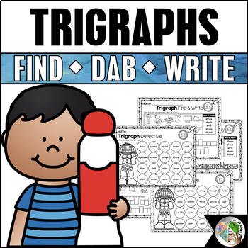 Trigraphs 3 Letter Blends Dab It