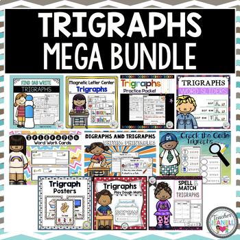 Trigraphs (3 Letter Blends) MEGA Bundle