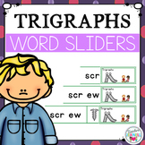 Trigraphs 3 Letter Blends Word Sliders