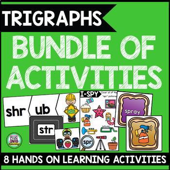 Trigraphs Bundle of Activities