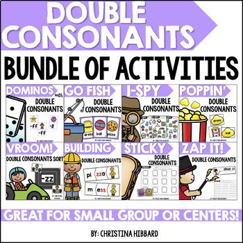 Double Consonants Bundle of Activities