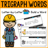 Trigraphs Center Activities with Magnetic Letters | WORD B