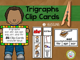 Trigraphs Clip Cards