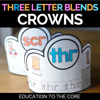 Trigraphs Crowns | Trigraphs Activities