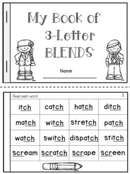 Trigraphs Fluency Book (Three Letter Blends)
