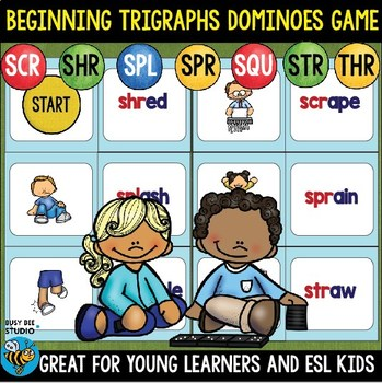 Trigraphs (3 letter blends) Game