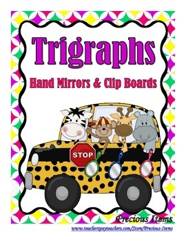 Trigraphs:  Hand Mirrors and Clip Boards