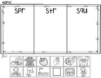 Trigraphs (Pocket Chart Activity and Worksheets)