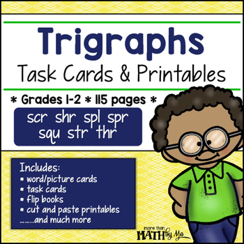 Trigraphs: Task Cards & Printables