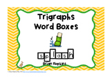 Trigraphs Word Boxes