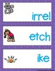 Trigraphs Word Building Mats