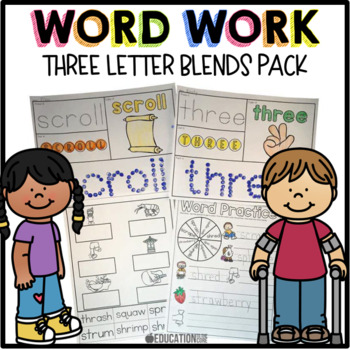 Trigraphs Word Work
