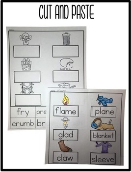 Trigraphs Word Work | Trigraphs Activities