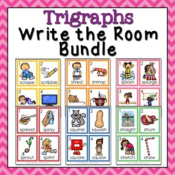 Trigraphs Write the Room Bundle