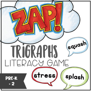 Trigraphs - ZAP literacy game
