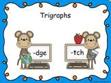 Trigraphs -dge & -tch Smart Notebook Mini Lesson