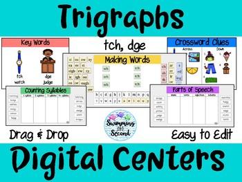 Trigraphs (tch, dge) Digital Centers