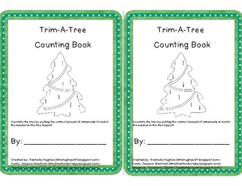 Trim-A-Tree Counting Book- Extended Content Standard Aligned