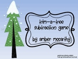 Trim-a-Tree Subtraction Facts Game