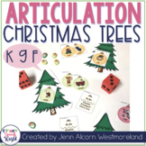 Trim the Speech Tree - /k, g, f/ Edition for Speech Therapy