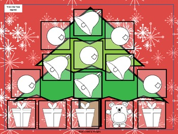Sight Word Games - Trim the Tree