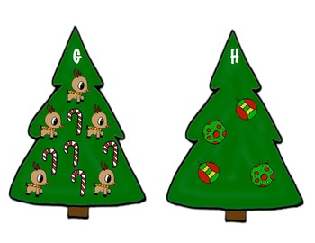 Trim the Tree Addition-A Write the Room Math Activity