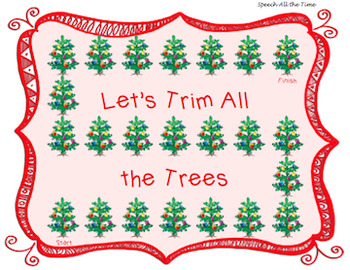 Trim the Tree: Final Consonant Deletion & Consonant Cluster Reduction