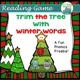 Trim the Tree! Reading Activity