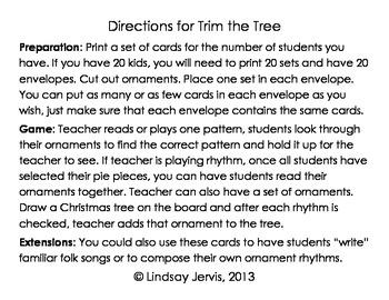 Trim the Tree Rhythm Game: tiri-ti