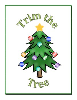 Trim the Tree Ten Frame Game