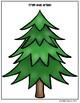Trim the Tree Vocabulary File Folder Activities