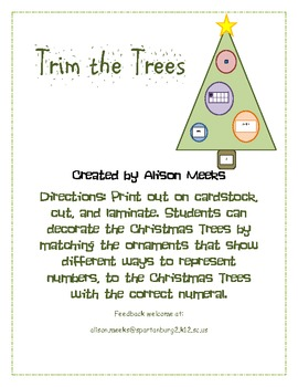 Trim the Trees: Matching Numerals to Different Number Representations