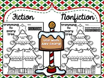 Trimming the Story Tree {Fiction and Nonfiction Story Organizers}