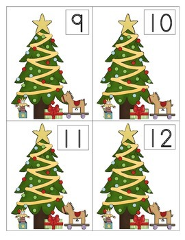 Trimming the Tree: A Matching Ten Frame Activity