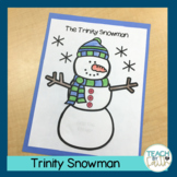 Trinity Snowman and Word Search
