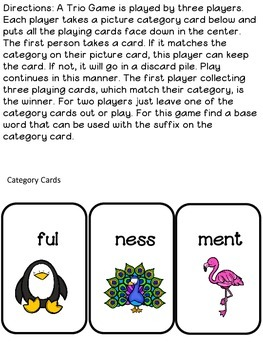 Suffix Game