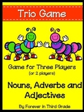 Verbs, Adverbs and Adjectives Game