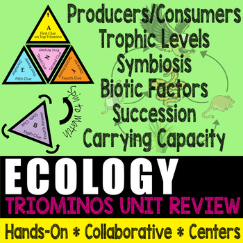 Triominos Puzzle ~ECOLOGY REVIEW~ Biology