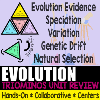 Triominos Puzzle ~EVOLUTION REVIEW~ Biology