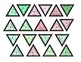 Triominos Puzzle ~Mid Year Review & Holiday/Christmas~ Chemistry