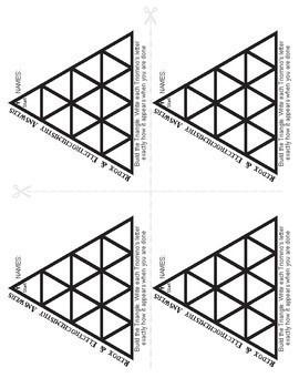 Triominos Puzzle ~RedOx & ELECTROCHEMISTRY~ Chemistry